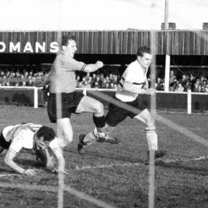 Action from Edgar Street, 1950s.
