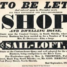 Advertisment for Shop Rental