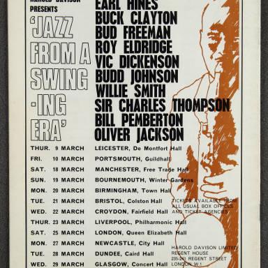 Duke Ellington Orchestra British Tour – February 1967 011