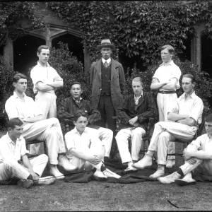 G36-404-04 Hereford Cathedral School, nine cricketers .jpg