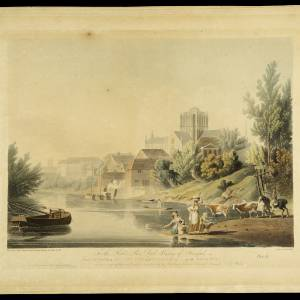 Ancient City and Cathedral and Wye