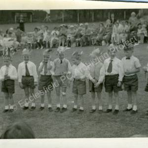 1960's Maypole Country Dancing In School Field (i)
