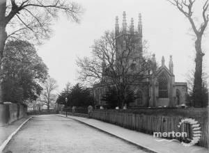 Exterior of Parish Church, Mitcham