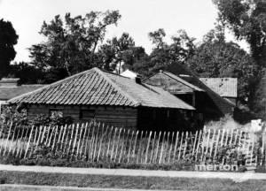 Peacock Farm: Outbuildings in Lower Morden Lane