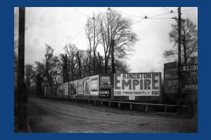 Coombe Lane, Raynes Park: Advertising Hoardings