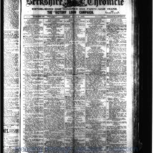 Berkshire Chronicle Reading 07-1919