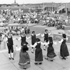 Folkmoot Festival 1988. Morris dancers