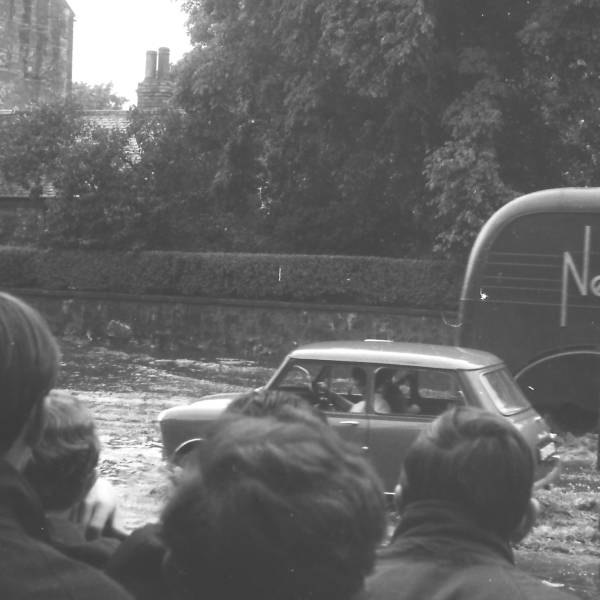 Flooding in Musselburgh (6) circa 1965 - sent in by Keith Brodie (1966)
