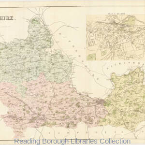 Kelly's Map Berkshire County