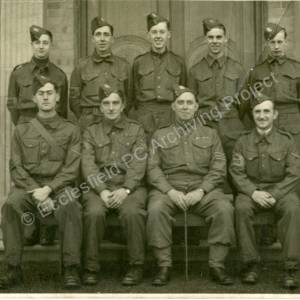Grenoside Home Guard during the 2nd World War