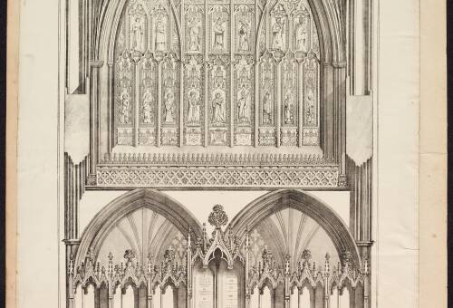 The East End of The Cathedral of St Peter's, Exeter