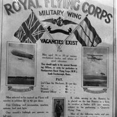 Royal Flying Corps Poster