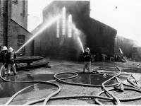 £2 million factory blaze at Pye record plant, Mitcham
