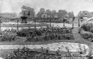 Carters Tested Seeds: Main entrance and rose garden