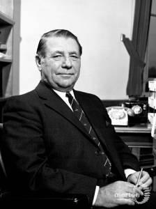 Alan Robinson, Town Clerk, Merton Council, 1973-80