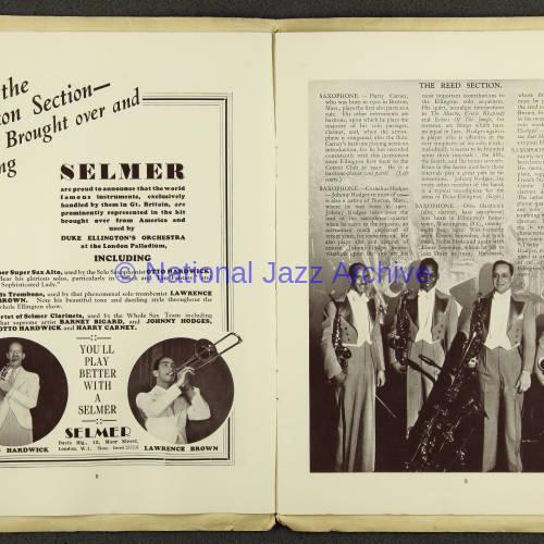 Duke Ellington Orchestra British Tour – July 1933 005