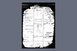 Enlistment Record - Albert Richard Ashley