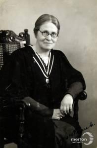Wimbledon County School for Girls: Miss C J Borthwick, Headmistress,  1919-1940