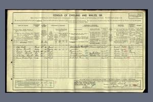 Cook 1911 census 6 Marlborough Road