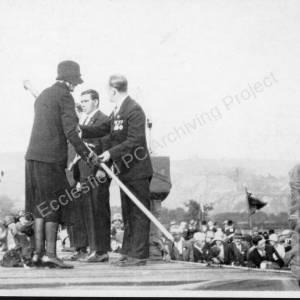 British Legion rally at High Green in October 1929