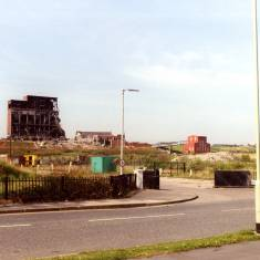 Demolition Progress at the Westoe Colliery Site