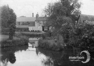 Fisheries Cottages and Grove Mill, Mitcham