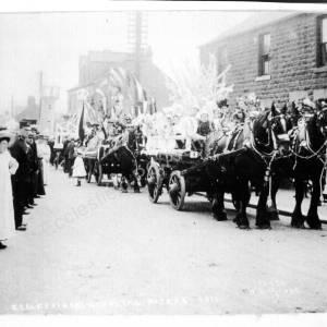 Hospital Parade 1911 Ecclesfield Common