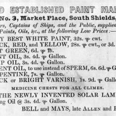 Bell and Mays, Old Established Paint Mart