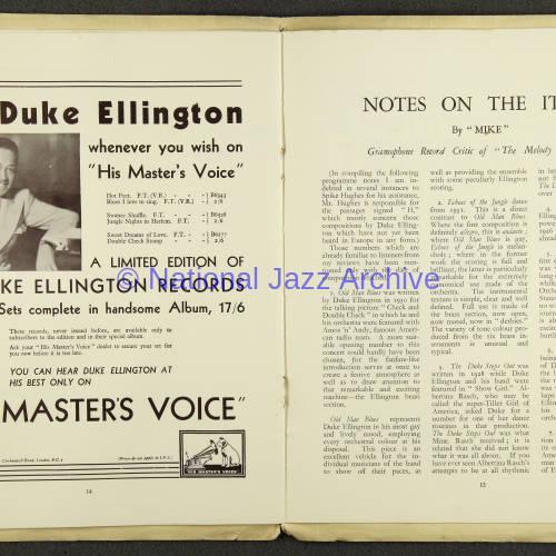 Duke Ellington Orchestra British Tour – July 1933 008