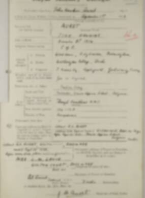 RMC Form 18A Personal Detail Sheets Feb & Sept 1933 Intake - page 156