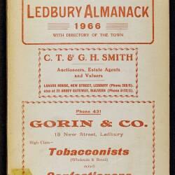 Tilley's Ledbury Almanack 1966