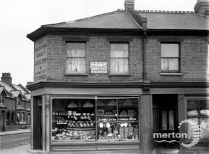 Merton High Street: Corner of Wandle Road