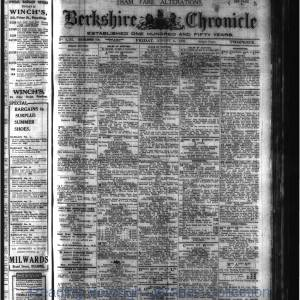 Berkshire Chronicle Reading 08-1920