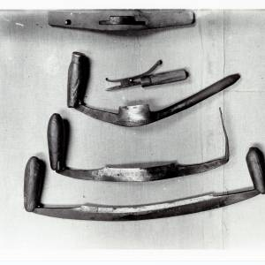 Cooper's Jigger, Draw Knives and Rod, 1942