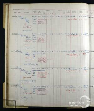 Register of Soldier's Effects - Adam Siebel