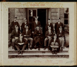 Photograph Album - 1911-1916_0035 Warden & Prefects 1915.jpg