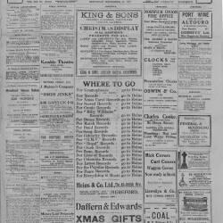 Hereford Journal - 21st December 1918