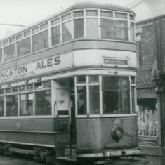 Tram 49 in Moon Street