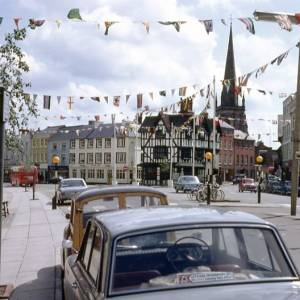 Hereford Regatta, High Town, Hereford, 1968