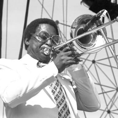 Curtis Fuller, 1982.