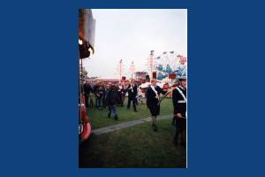 Mitcham Fair.The Mayor's Procession Mitcham Fair.