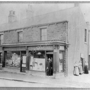 Burncross Post Office and Stores, 1900's.