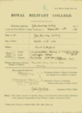 RMC Form 18A Personal Detail Sheets Jan-Sept 1919 - page 3