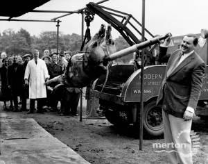 Roasting the Coronation Ox, Wimbledon Common