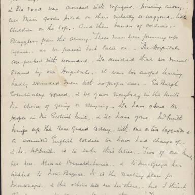 Elsie Inglis to Amy Inglis Simson, Nov 1915 (Part 2)