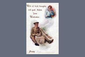 Wartime Postcard, Wimbledon