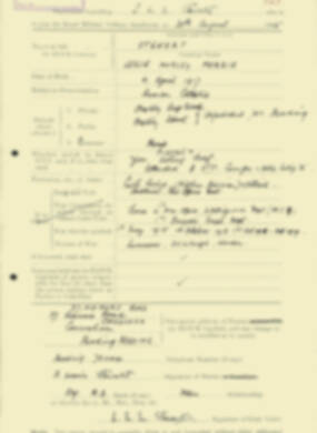 RMC Form 18A Personal Detail Sheets Aug 1935 Intake - page 197