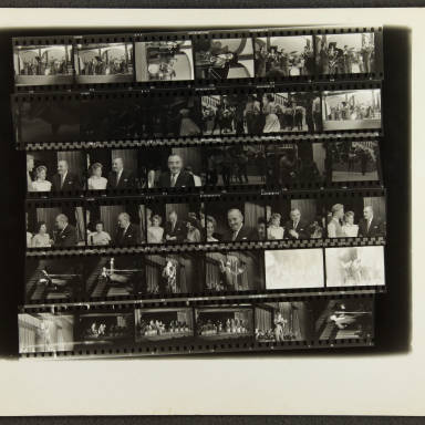 Butlins Jazz Weekend 1956 Contact sheet 002