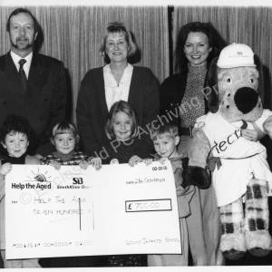 Lound School Fundraising For Help The Aged October 1993