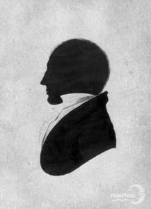 Edward Rayne ( 1798-1847 ) : Contemporary silhouette